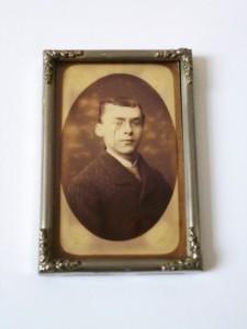 foto in lijst jongeman